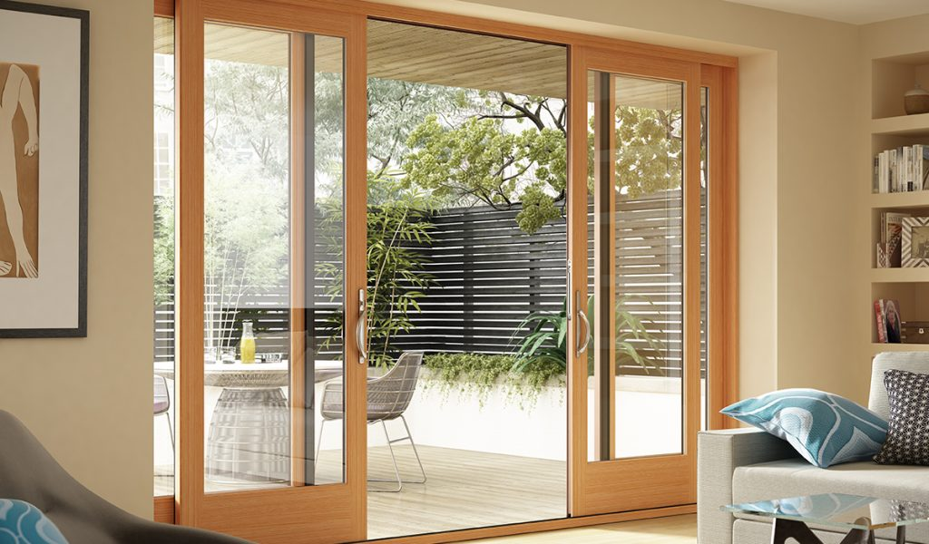 Milgard Wood Patio Doors
