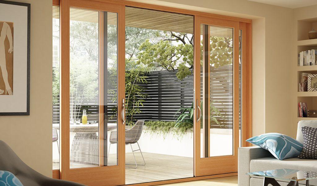 Milgard Wood Patio Doors