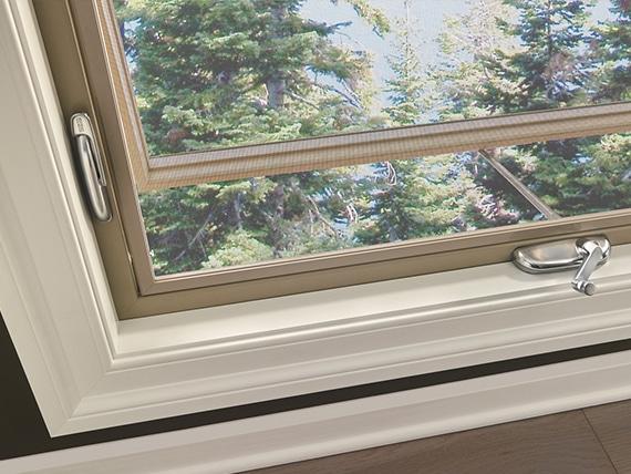Awning Windows Closeup