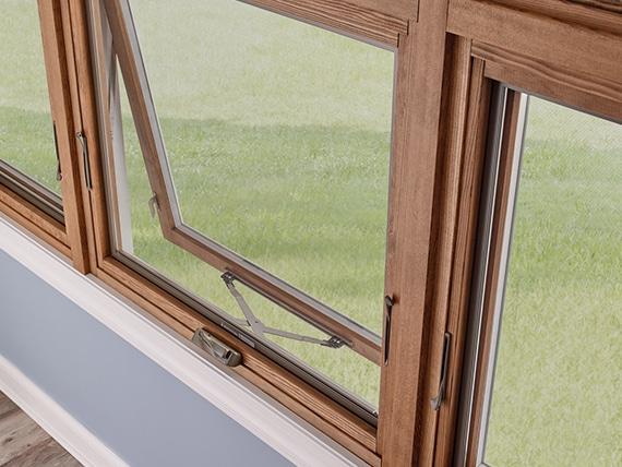 Awning Windows Wood Frame